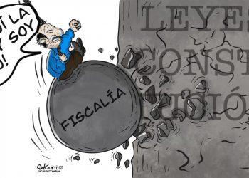 La Caricatura:  La ley soy yo