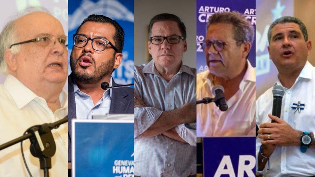 Líderes de la oposición y precandidatos a la presidencia se encuentran detenidos privados de su libertad