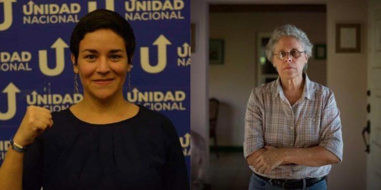 Tamara Dávila y Dora María Téllez 90 días presas