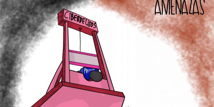 La Caricatura: Amenazas a la prensa libre