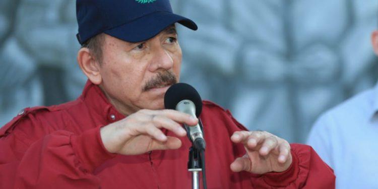 Daniel Ortega reaparece ante el público, luego de un mes «desaparecido». Foto: CCC