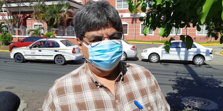 Editor de La Prensa, Eduardo Enríquez, se presenta a Fiscalía en caso Cristiana Chamorro. Foto: Artículo 66/ Noel Miranda.