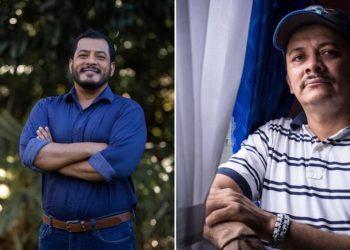 Precandidatos presidenciales Félix Maradiaga y Medardo Mairena.