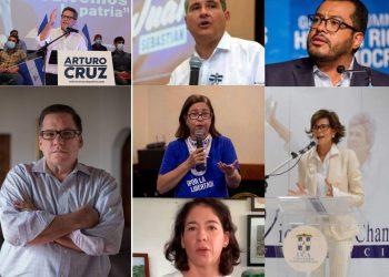 Cuatro precandidatos presidenciales, dos opositoras y un expresidente del Cosep, detenidos por el régimen de Ortega.