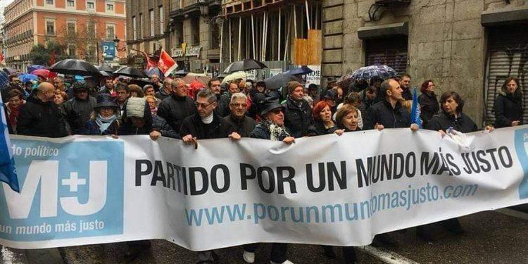 """Partido político español pide sanciones para quienes violen derechos humanos en Nicaragua. Foto/Cortesía: Partido Político """"Por un Mundo Más Justo"""""""