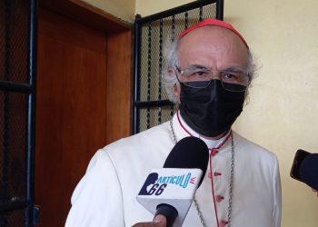 Cardenal Brenes: Si el Gobierno toma represalias contra sacerdotes «sean bienvenidas y siempre las vamos a afrontar como en los 80». Foto: N. Miranda/Artículo 66.