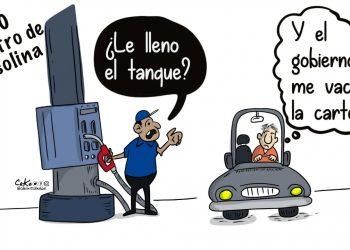 La Caricatura: Gasolinazo «solidario»