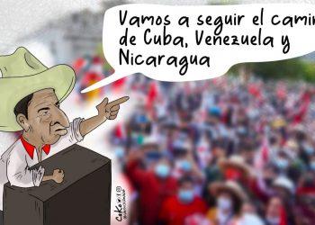 La Caricatura: El verdadero discurso de la izquierda