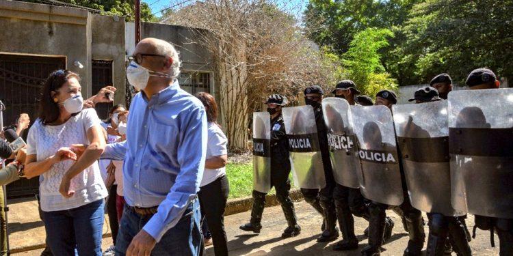 Carlos Fernando Chamorro: «La dictadura no ha podido callar a la prensa en Nicaragua». Foto: Artículo 66/EFE