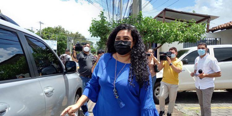 Fiscalía interroga por segunda vez a periodista Verónica Chávez. Foto: N. Miranda/Artículo 66.