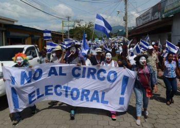 Colación Nacional califica de farsa las elecciones de Ortega