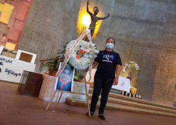 El universitario Gerald Vásquez cumple tres años de asesinado, tras ataque paramilitar a la Divina Misericordia. Foto: Artículo 66 / Cortesía