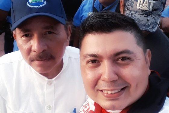 Joe Vargas, creador de campañas de odio contra periodistas y opositores de Nicaragua. Foto: Tomada de redes sociales
