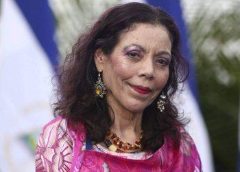 Rosario Murillo calla ante nueva sanciones, pero sentencia: «aquí no alcanza el odio señores imperialistas». Foto: Artículo 66 / Gobierno