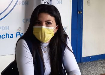 Policía acusa a abogada María Oviedo de «atentar contra la patria». Foto: Artículo 66 / Noel Miranda