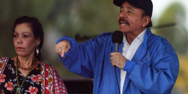 Los Ortega-Murillo se le corren a su militancia y no celebrarán acto público el 19 de julio. Foto: redes oficialistas.