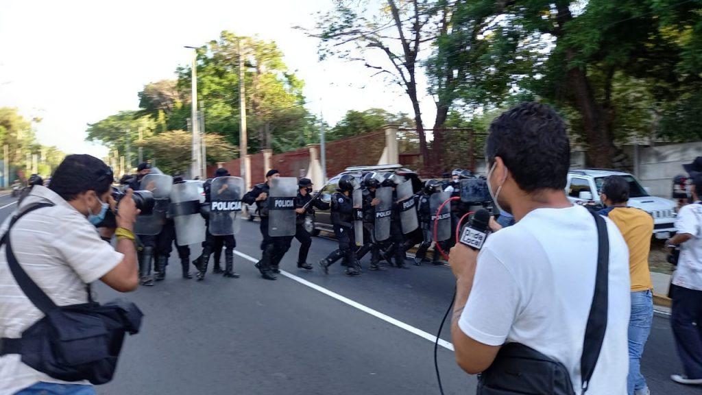 Organismo de derechos humanos español exige a Ortega el cese a la represión. Foto: Artículo 66 / Noel Miranda