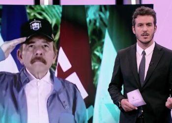 Dictadura de Ortega niega acceso a televisión pública de España a Nicaragua. Foto: Reproducción. Radiotelevisión Española/Israel González Espinoza.