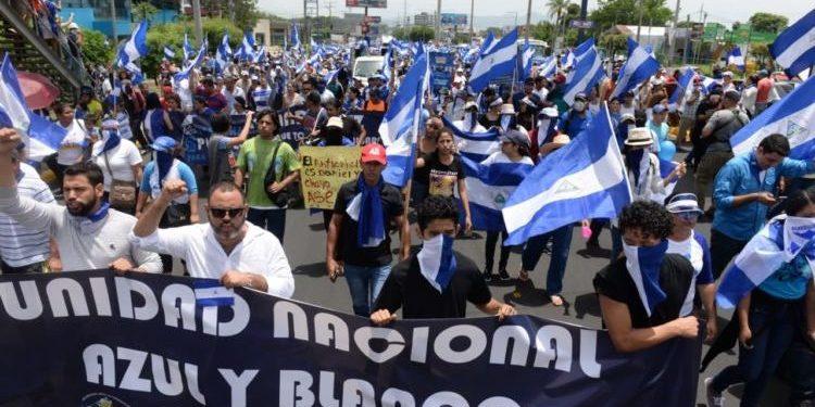 UNAB demanda la libertad de todos los presos políticos. Foto: Internet.