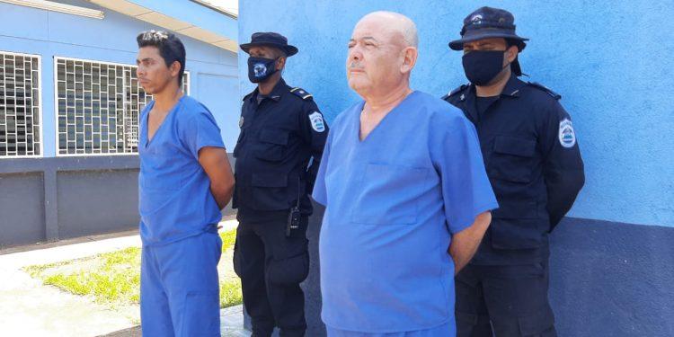 Alta ficha del FSLN en Río San Juan presentado como narco ante la Policía orteguista. Foto: Policía