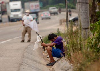 El 8,7 % de la población de Centroamérica padece hambre, según la FAO. Foto: EFE.