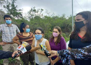 Familiares exigen a Ortega que muestre a los 21 recientes rehenes de la dictadura. Foto: Noel Miranda / Artículo 66