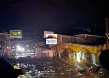 Intensas lluvias provocan estragos en Santo Domingo, Chontales. Foto: Santo Domingo Comunica.