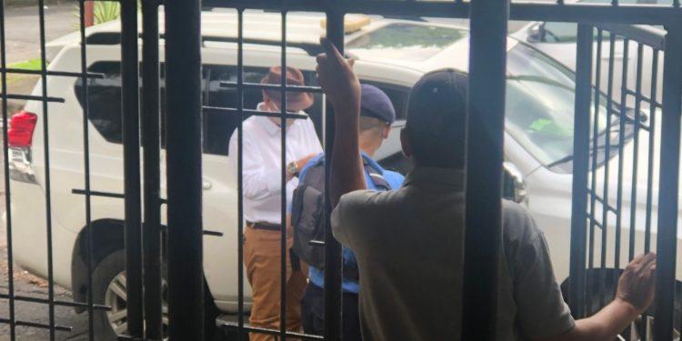 Asedio policial en la Sede Nacional de Ciudadanos por la Libertad. Foto: Cortesía/CxL