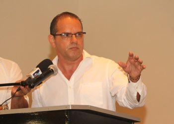 Precandidato Américo Treminio insiste que «dará la batalla» en medio de la «desgracia». Foto: RRSS.