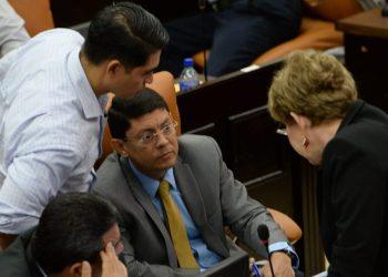 Diputados del PLC, entre los «castigados» sin visa estadounidense. Liberales lo consideran «injusto». Foto: La Prensa/ Referencial.
