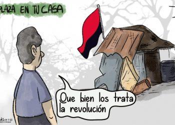 La Caricatura: Las casas de los que no alcanzaron la piñata