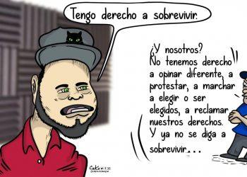 La Caricatura: Nicaragua sin derechos