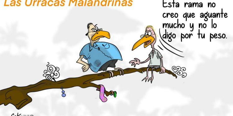 La Caricatura: Las urracas malandrinas