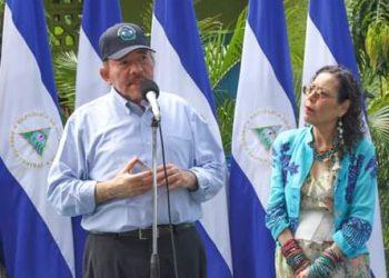 Daniel Ortega «rechaza negociaciones» con Estados Unidos y lo acusa de querer «boicotear» las elecciones. Foto: Prensa oficialista.
