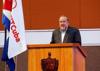 En la imagen, el primer ministro de Cuba, Manuel Marrero. EFE/Ernesto Mastrascusa/Archivo