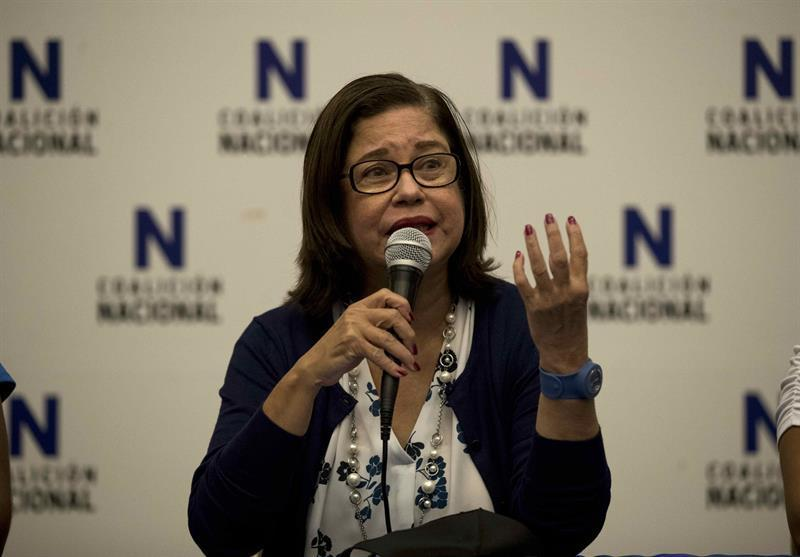 Violeta Granera está «secuestrada» por el Estado, según constancia oficial de antecedentes judiciales. Foto: Internet.