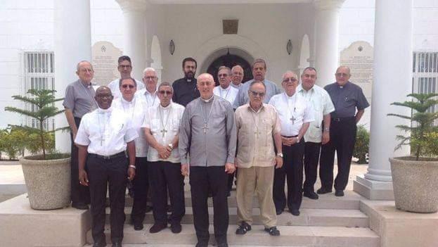 Obispos cubanos respaldan derecho a manifestarse pacíficamente. Foto/Cortesía: Conferencia de Obispos Católicos de Cuba