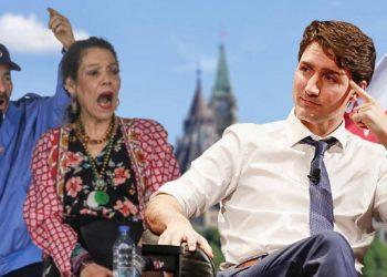 !5 funcionarios orteguistas más sancionados por Canadá. Ilustración: Artículo 66