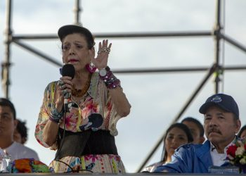 Nicaragua exige «al capitalismo una compensación en forma de vacuna». Foto: EFE.