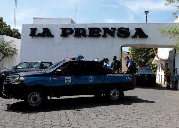 Exiliados en Italia piden a medios de ese país que condenen al régimen de Ortega. Foto: Artículo 66 / EFE.
