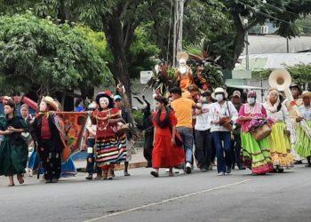 Dictadura desafía a la iglesia católica y monta sus propias fiestas de San Jerónimo. Foto: Artículo 66 / Noel Miranda