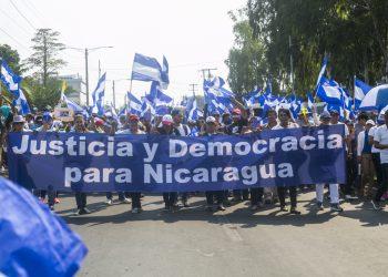 Alianza Cívica declara «alarma nacional» ante escalda represiva de la dictadura. Foto: Jorge Mejía Peralta