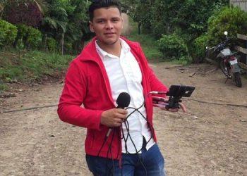 Periodista Jacksell Herrera en el exilio. Foto: cortesía