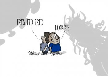 La Caricatura: Horrible situación