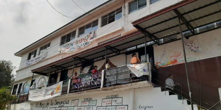 Colectivo de mujeres Matagalpa. Foto: Radio Vos Matagalpa