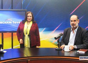 Fallece Margarita Rojas, vocera de Amcham por COVID-19. Foto: 100% Noticias
