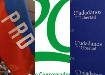 Los tres partidos «descabezados» por la dictadura, en menos de tres meses