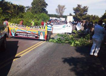 Indígenas retoman protestas para exigir la renuncia del presidente de Guatemala. Foto: Tomada de Internet.
