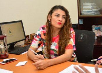Jueza Gloria Saavedra fue la ficha orteguista utilizada para dictar inhibición contra Berenice Quezada. Foto: Internet.