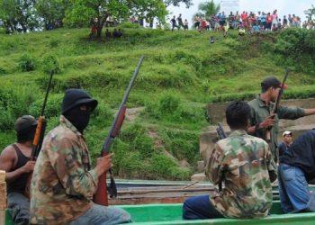 Misquito baleado por colonos exige justicia y cese de la invasión a sus tierras. Foto: Internet.